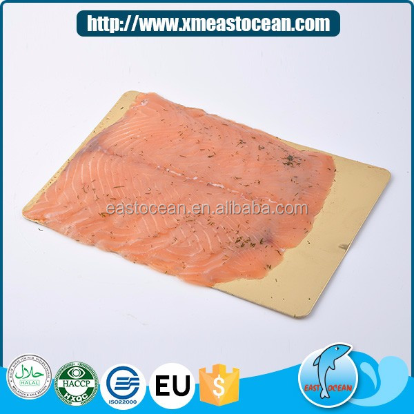 Wholesale high quality delicious frozen smoked salmon with for Can you freeze smoked fish