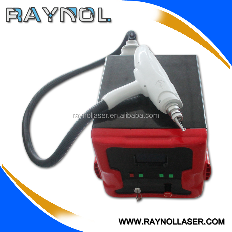 Pigment and tattoo remover laser beauty machine 1064nm 532nm Q switch Nd YAG laser