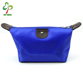 Promotional multicolor custom waterproof nylon cosmetic bag, beauty tabs cheap make up cosmetic bags