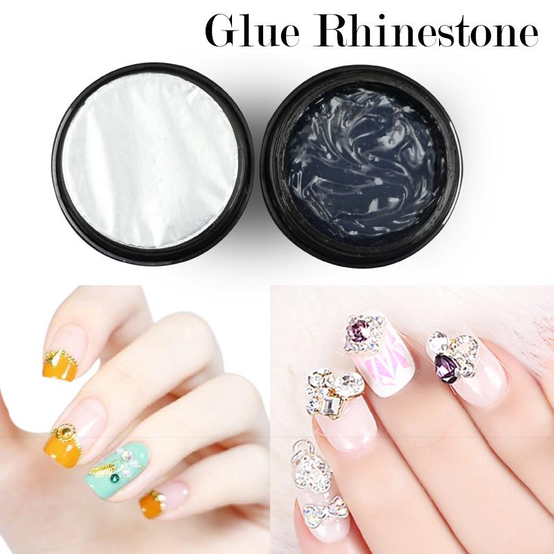 Professional Nail Glue Rhinestone Uv Gel Super Sticky Builder Gel ...