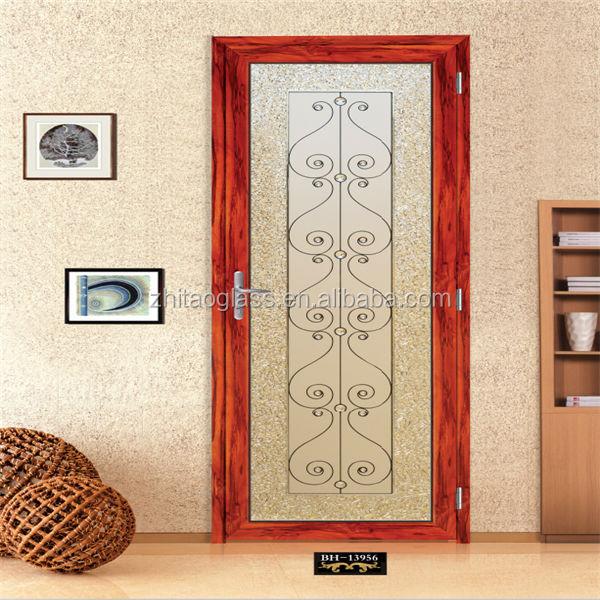 Fabricantes De Puertas De Vidrio Decorativo Puerta De Entrada Insertos Puerta