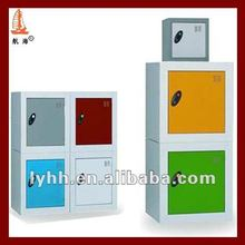 Fashion Color Kids Toy Cabinet Furniture Mini size H350*W350*D350 metal cube locker