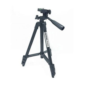 Black Matt Lightweight Portable Aluminum Tripod 4 Pitch Stand 3120 for Digital Cameras