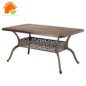 Picture Cast Alu. Frame Image Number 3 Layers Stand Restaurant Table