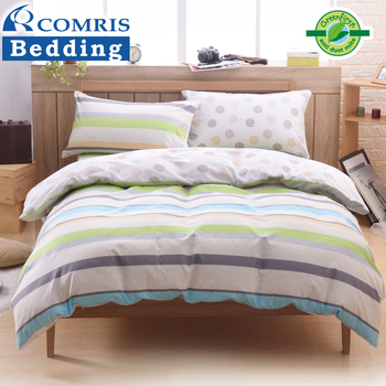 Lovely 4 Piece Wholesale Custom Size Anti Mites Bed Sheets Set