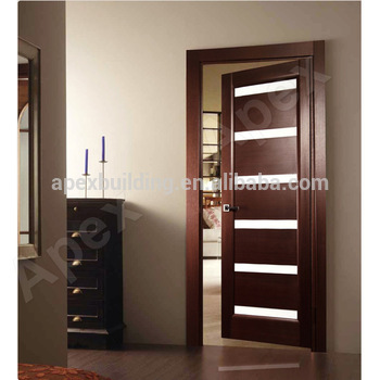 Captivating Latest Modern Wood Door Design Pictures/ Main Door Grill Design With Glass  Solid Wood Or