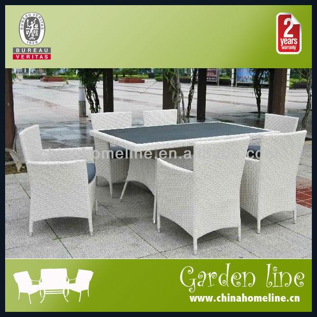 Luxe glazen eettafel met rotan stoel 61709 eettafels for Rotan eettafel stoel