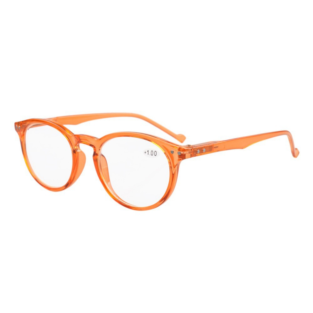 513bdbc3a75 R071 Eyekepper Oval Round Spring Hinges Reading Glasses +0.0 0.5 0.75 1.0