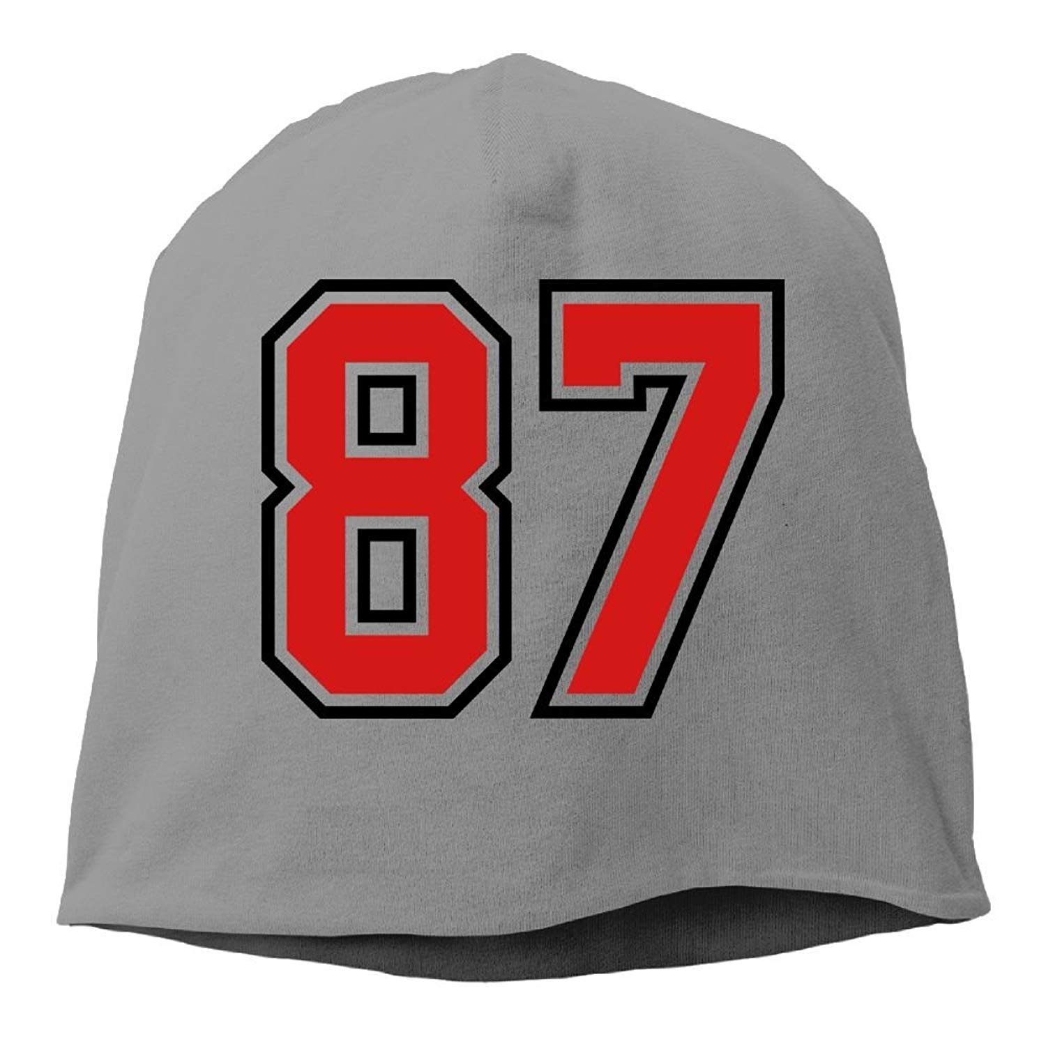87 Sports Jersey Football Number Thinsulate Insulated Cuffed Winter Hat
