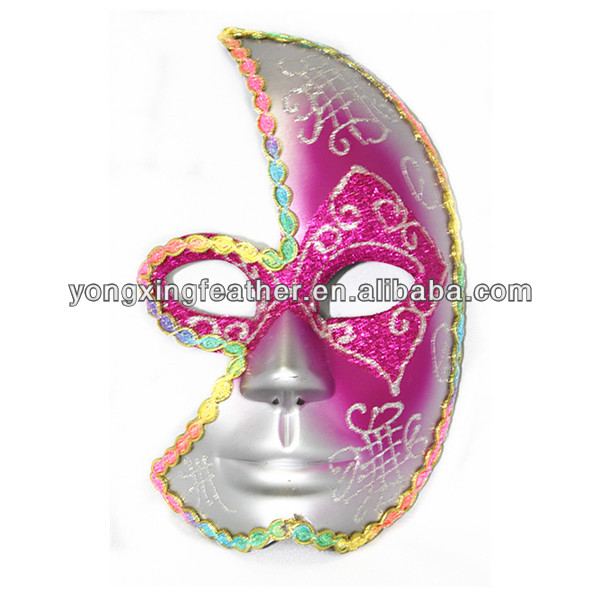 plastic plain face mask
