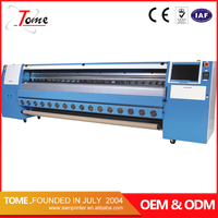 10feet high quality flex banner printing machine with konica1024 head for outdoor printing