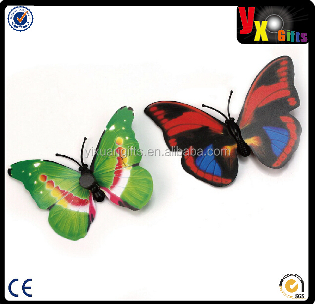 Cute Charming Butterfly 3D Fridge Magnets Art Room Wall Decor Crafts