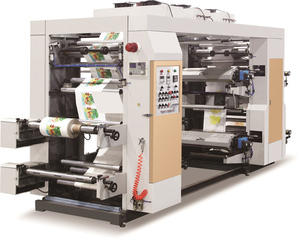 YT-6600 money save type six colors plastic film and paper flexo printing machine
