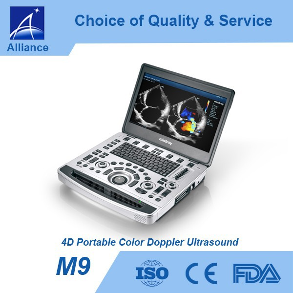 M9 4D Portable Color Doppler Ultrasound