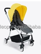 HOT DESIGN ONE TOUCH FOLDING GOOD BABY STROLLER WITH THREE MODE SUN CANOPY AND FOOT REST