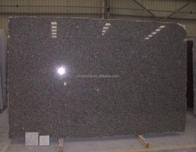 High quality cheap polished brown caledonia granite slab for kitchen countertop