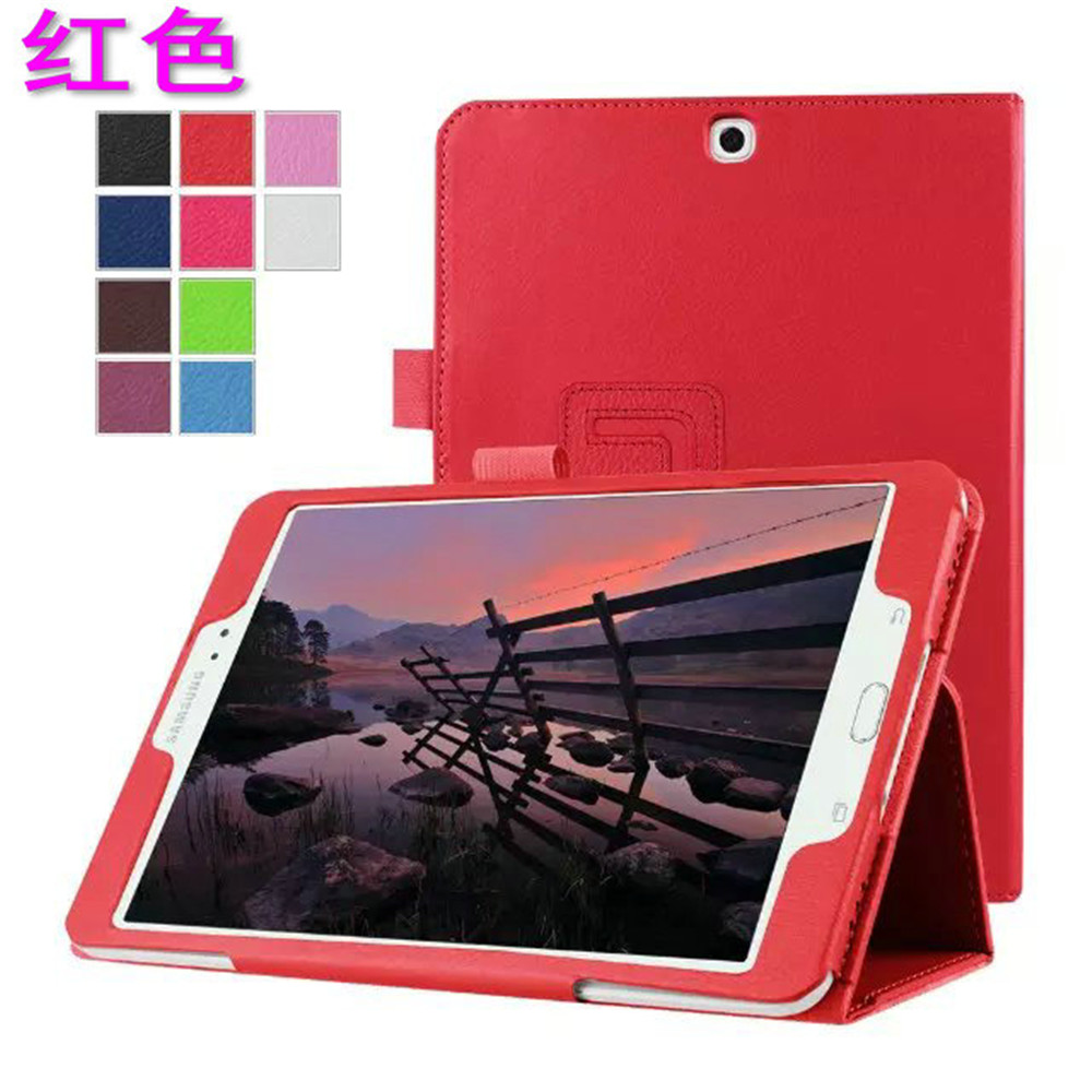 New Arrival PU Fashionable Perfect Fitted Anti-knock Colorful Tablet Case for Samsung Galaxy Tab S2 9.7 T810