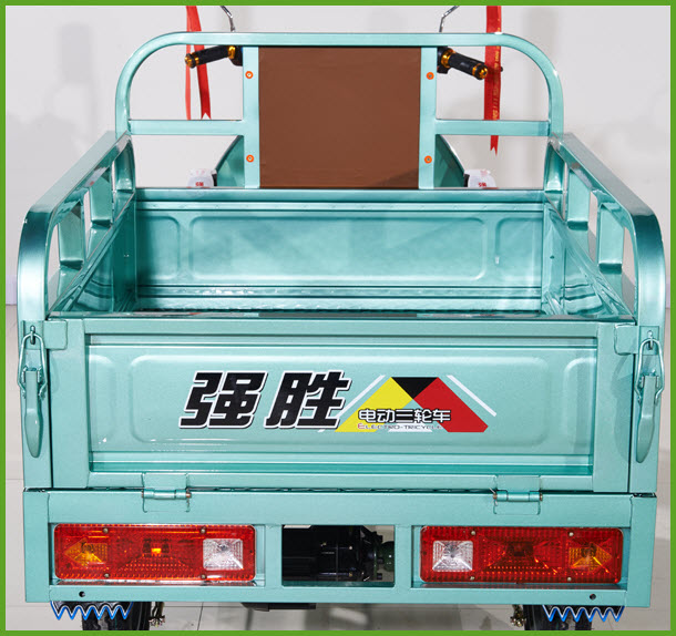 QS-E 1.6 Cargo auto rickshaw capacity 500 kg model price list from China supplier
