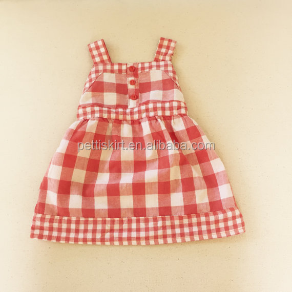 0965799d3 Latest Dresses Little Girls Check Baby Frocks Pattern - Buy Baby ...