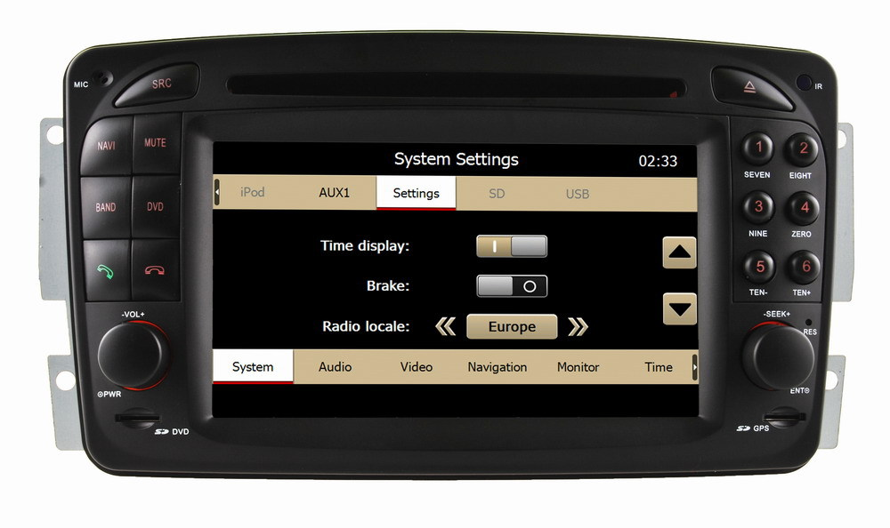 Radio Gps For Mercedes Vito