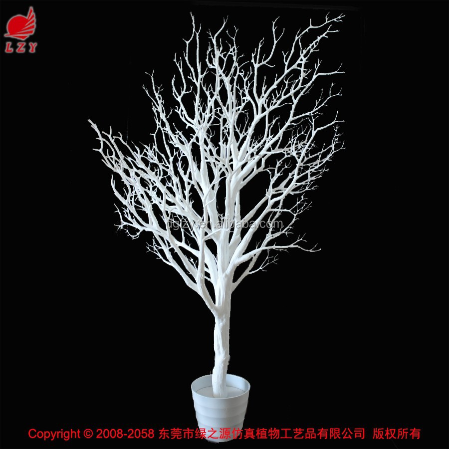 Artificial Coral Branch Tree Decorative White Dry Tree Branch - Buy Dry Tree  For Decoration,