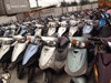 used scooter for sale/cheap motorcycle Taiwan refitted repaired factory export