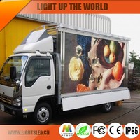 P10 truck/trailer/car moving led display stage truck mobile advertising led display