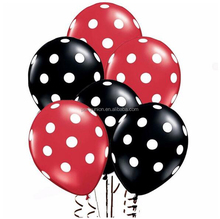 12 inch dot latex balloons Birthday party presents ballon wedding Decorations