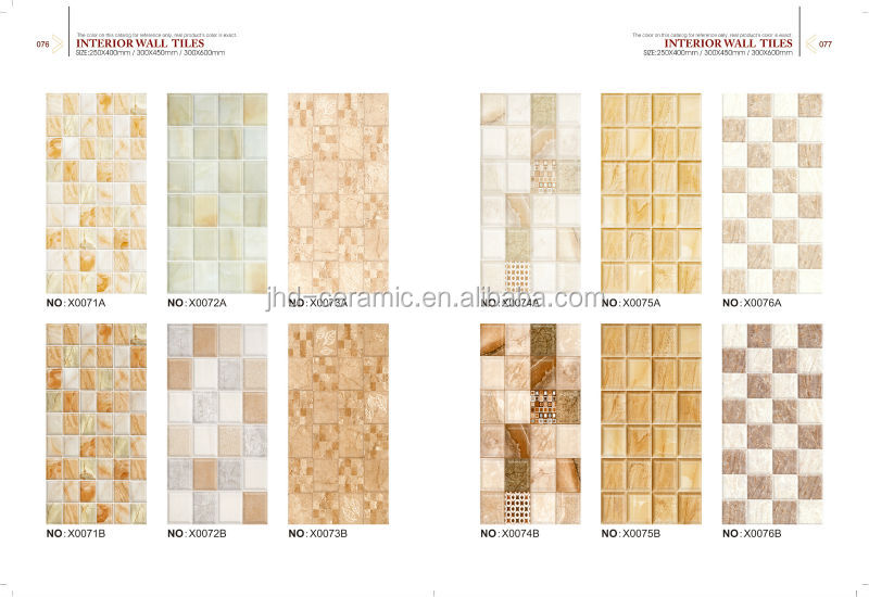 China Cheap 250x500 Mm New Glossy Glazed Digital 3d Tile