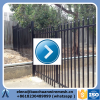 8Ft x 5Ft cheap wrought iron fence panels for sale/ iron fence