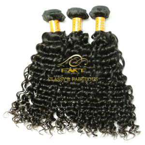 Hot Selling Jerry Curl Natural Color 3 Bundles Hair Weaving No Shedding Brazilian 100% Human Hair