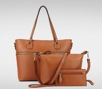 Shoes & Accessories Ladies Women 3 in 1 cheap New Design shoe and bag set handbags purses