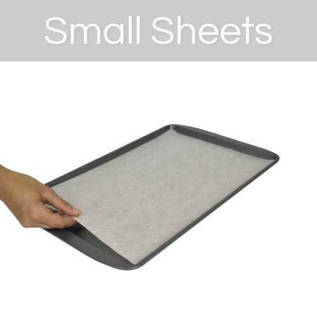 The Smart Baker Small 9 x 13 inches Perfect Parchment Paper - Pre-Cut Parchment Paper Baking Sheets