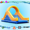 43FT(13m) Long cheap giant inflatable floating water slide for sale