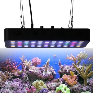 2018 Rohs dimble full spectrum smart saltwater marine planted grow lumini aqua led aquarium light for aquarium reef with hanger