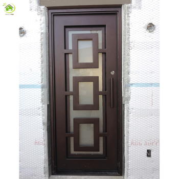 Modern Solid Wrought Iron Material Doors Gates Buy