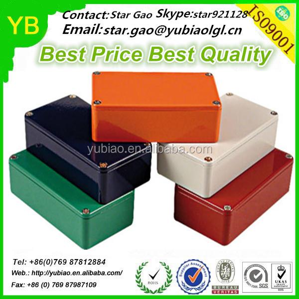 China Custom Colorful Anodized Hammond 1590g/1590a/1590b Cnc ...