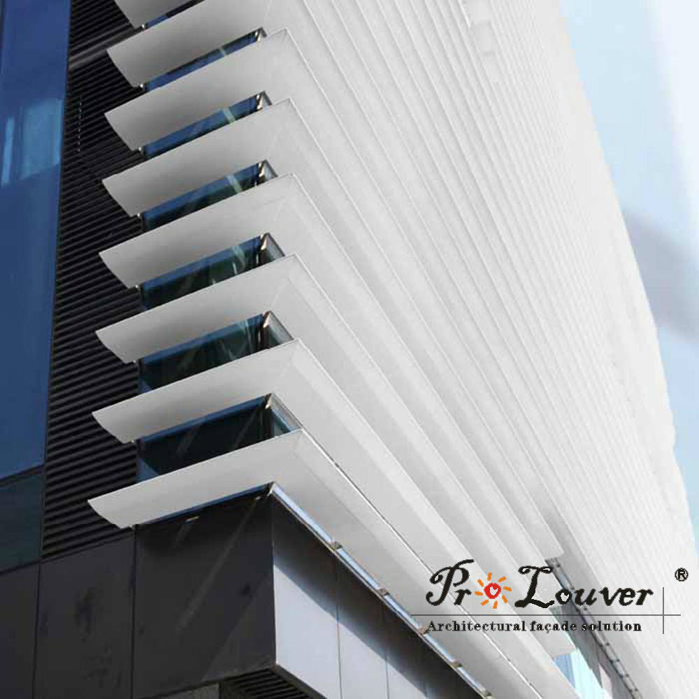 Aluminum Operable Motorized Louver Roof Buy Rainproof