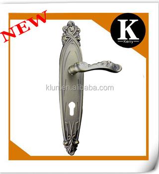 New Design Zinc Big Long Plate Door Handle Euro Lock 2200 - Buy ...