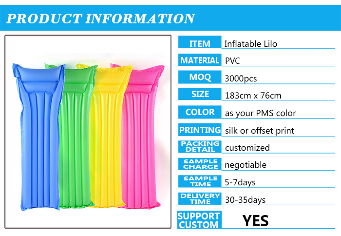Gift Preminum Promotional Gifts Cheap Pvc Inflatable Lie Low Water ...