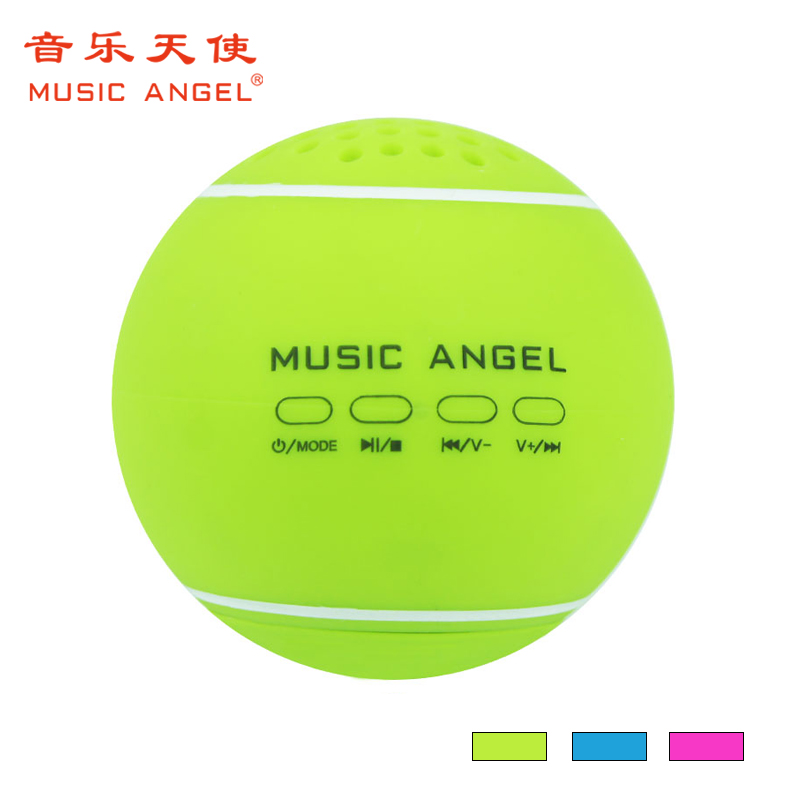 Promotion Gifts palm size Tennis ball mini bluetooth speaker manual