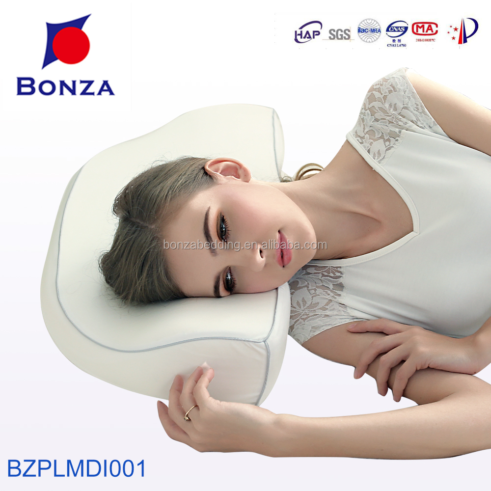 Diamond cervical MDI memory foam pillow with high quality comfortable cover