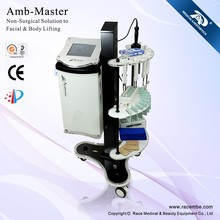 Amb-Master 2012 Newest RACE best microcurrent face lifting and skin whiten machine(18 years manufacture with CE,ISO13485)
