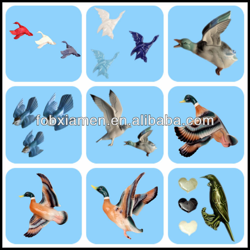 decoration wall panel flying duck