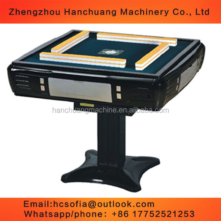 2016 hot sale mahjong machine/ automatic majiang table