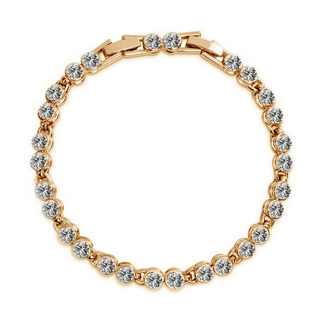 Бесплатная доставка браслет и браслеты имитацией бриллиантов браслеты золото / серебро ссылка браслеты женщины горный хрусталь аксессуары