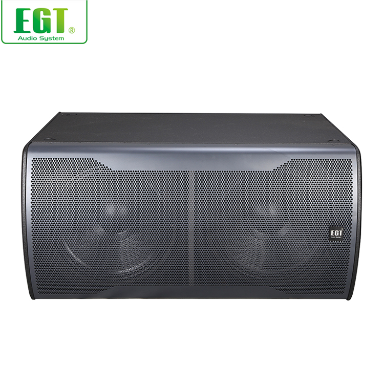 "New product subwoofer loudspeaker 2 x 18"",1-way audio professional passive speaker dual 18-inch subwoofer"