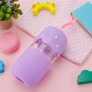 Heat Resistant Cute Mini Wholesale Glass Water Bottle with Sleeve