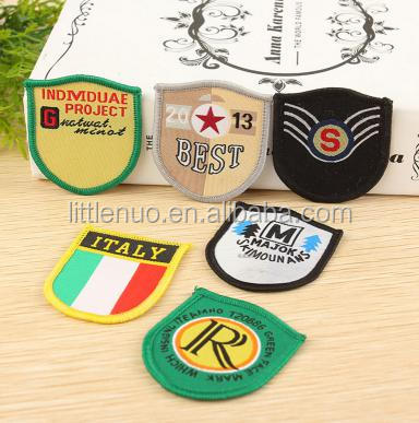 NB0004 High Quality Creative Hook And Loop Traditional Embroidery Patch Garment Accessories