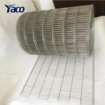 Wire Mesh Belt For Conveying Biscuits Metal Weave Conveyor Belt Mesh ...
